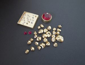 Ruby and Raw materials