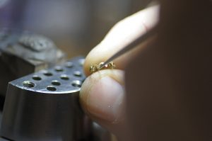Goldsmith ring making process